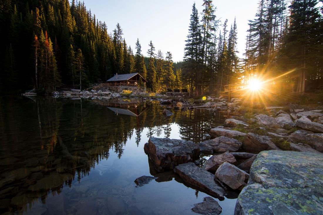 Fairy Tale in Lake Agnes